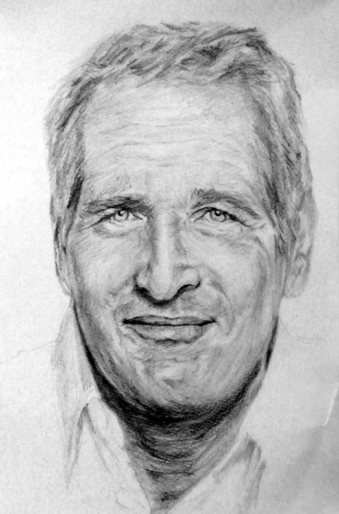 Paul Newman by linshyhchyang